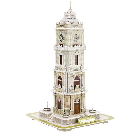 Cubic Fun 3D 93 Parça Puzzle Dolmabahçe Saat Kulesi