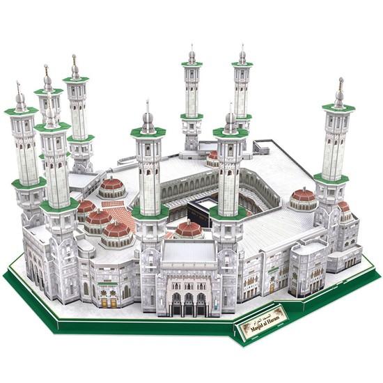 Cubic Fun 3D 249 Parça Puzzle Masjid Al-Haram