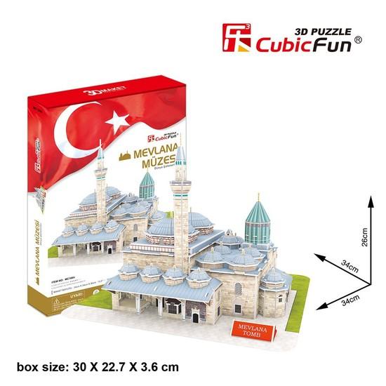 Cubic Fun 3D 116 Parça Puzzle Mevlana Müzesi