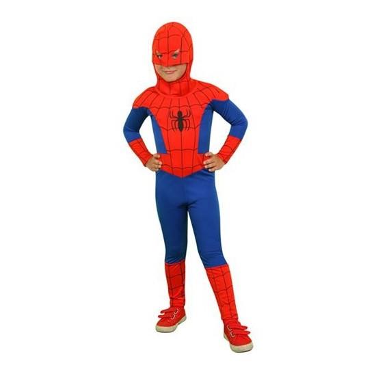 Mega Oyuncak Spiderman Örümcek Adam Kostümü Orjinal 4-6 Yaş