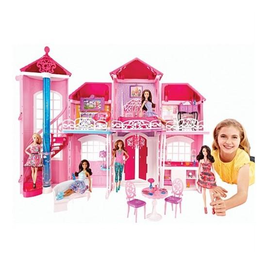 Barbie Yeni Malibu Evi Bjp34