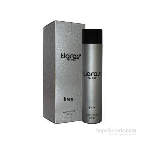 Tiaras Hero Edt 100Ml Erkek Parfüm