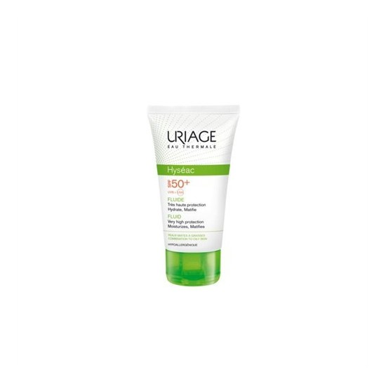 Uriage Hyseac SPF50+ Fluide 50ml - Karma ve Yağlı Ciltler İçin Güneş Koruyucu