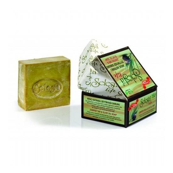 Selesta Zeytinyağlı Katı Sabun Ardiç Katran 170 Gr