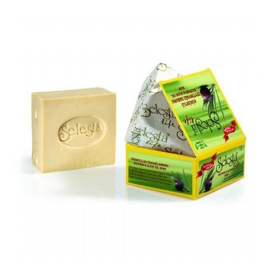 Selesta Zeytinyağlı Katı Sabun Kükürt 170 Gr