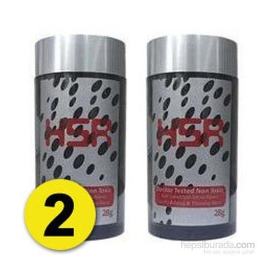 HSR Hair So Real Saç Fiberi 28 Gr. Koyu Kahve 2'Li Paket