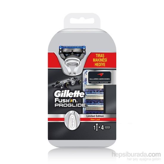 Gillette Fusion ProGlide Yedek Bıçak 4'lü Bıçak (Fusion ProGlide Tıraş Makinesi Hediyeli)