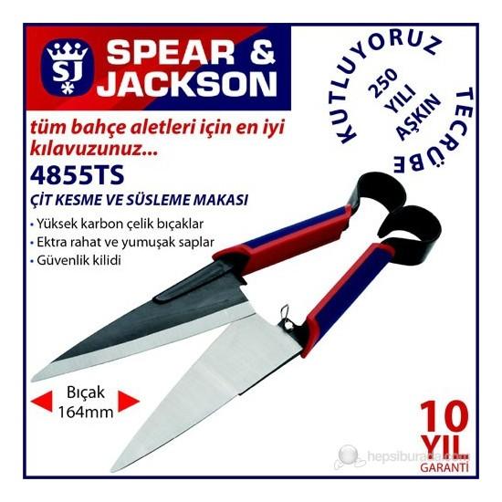 Spear And Jackson 4855Ts Çit Kesme Ve Süsleme Makası