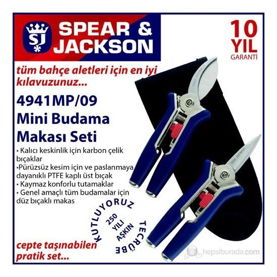 Spear And Jackson 4941Mp Mini Budama Makası Seti 2 Parça