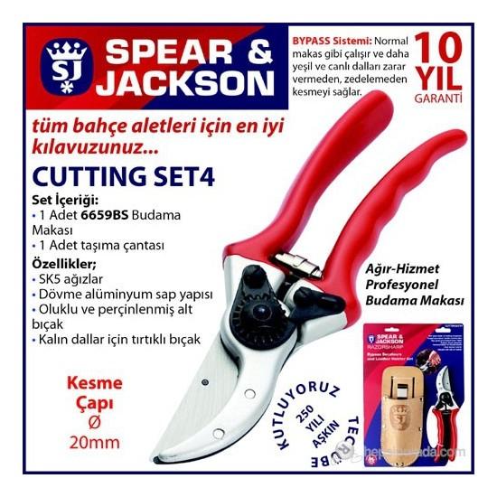 Spear And Jackson Cuttıngset4 Budama Makası Kiti Ağır Hizmet