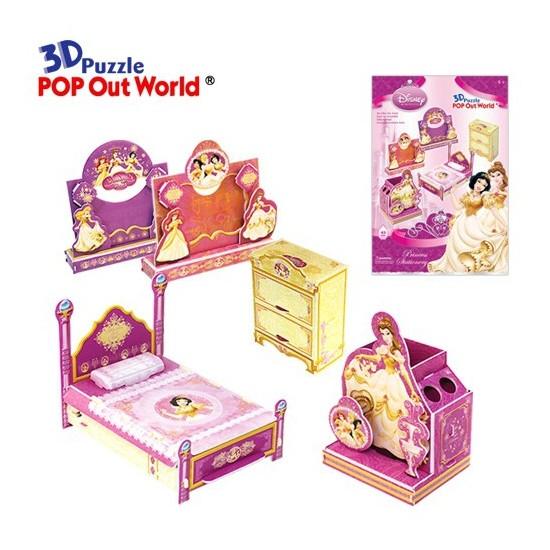 Scholas 3 Boyutlu Puzzle Maket Princess Stationery
