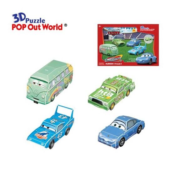 Scholas 3 Boyutlu Puzzle Maket McQueen & Friends II