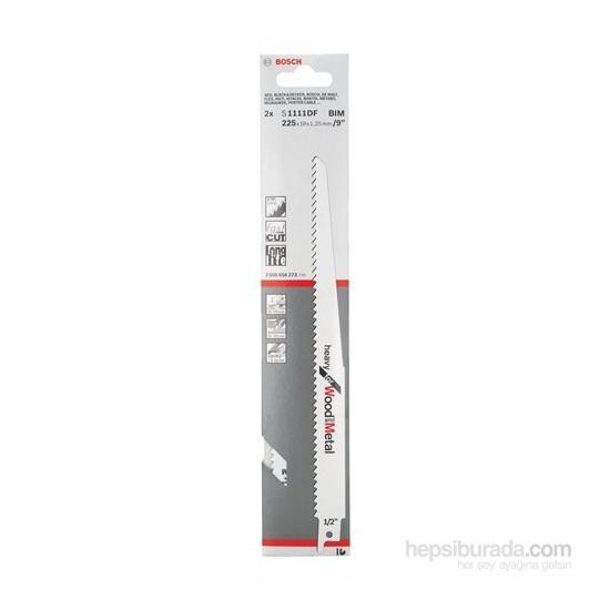 Bosch - Heavy Serisi Ahşap Ve Metal İçin Tilki Kuyruğu Bıçağı S 1111 Df - 2'Li Paket