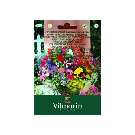 Vilmorin Karışık Balkon Çiçekleri Çiçek Tohumu