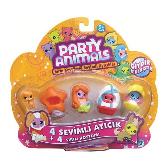 Party Animals Dörtlü Paket