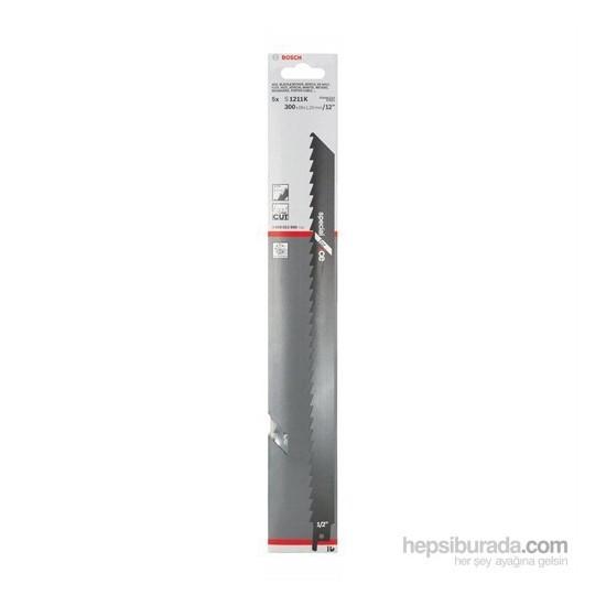 Bosch - Tilki Kuyruğu Bıçağı S 1211 K - Buz ve Kemik Kesme 1'Li Paket