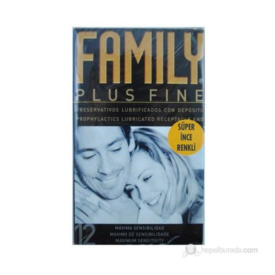 Family Maximum Hassas Renkli Prezervatif 12'Li