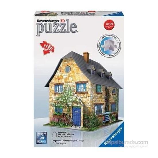 Ravensburger 3 Boyutlu 216 Parçalı Plastik Puzzle Kır Evi-125852