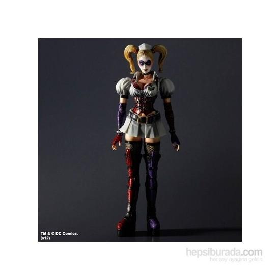 Batman Arkham Asylum Harley Quinn Play Arts Kai Figür