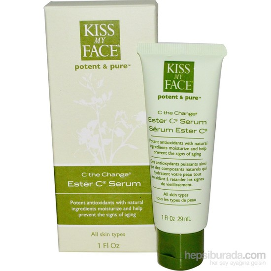 Kiss My Face Ester C Serum