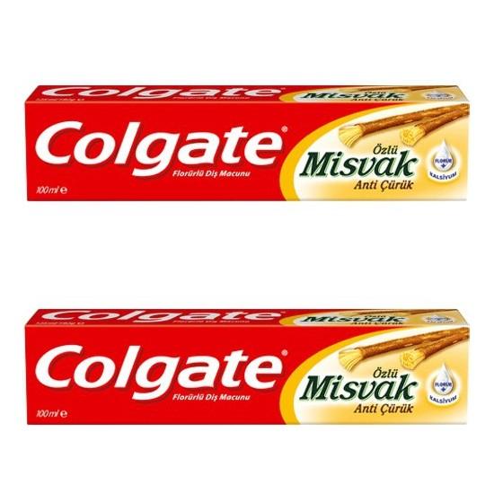 Colgate Misvak Özlü Diş Macunu 100 Ml X 2 Adet