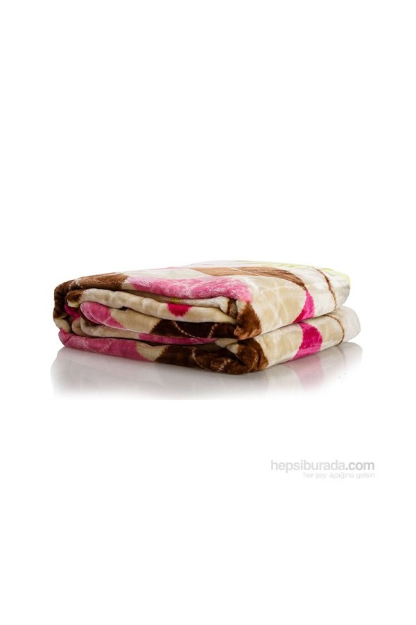 YastıkMinder Patterned Double Bed Blanket