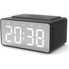 Shopfocus BT-508 Kablosuz Bluetooth 5.0 Hoparlörler Zaman Ekran (Yurt Dışından)
