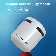 Shopfocus JM01 Taşınabilir Kablosuz Bt 5.0 Hoparlör Çalar Saatler (Yurt Dışından)