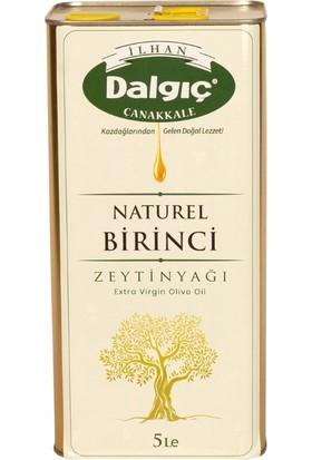 İlhan Dalgıç Natural Birinci Zeytinyağı Teneke 5 lt