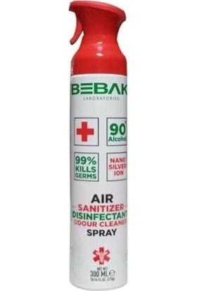 Bebak Sterilize Antibakteriyel Hava Temizleme Spreyi 300 ml