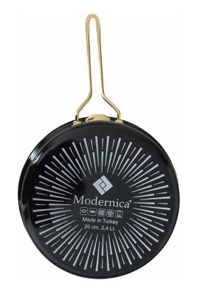 Modernica Siyah Emaye Tava 26 cm