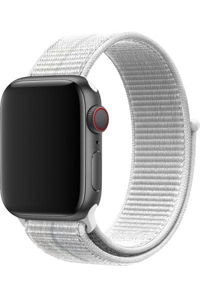Coverzone Apple Watch 40MM Uyumlu Kayış Spor Loop Kordon Everest