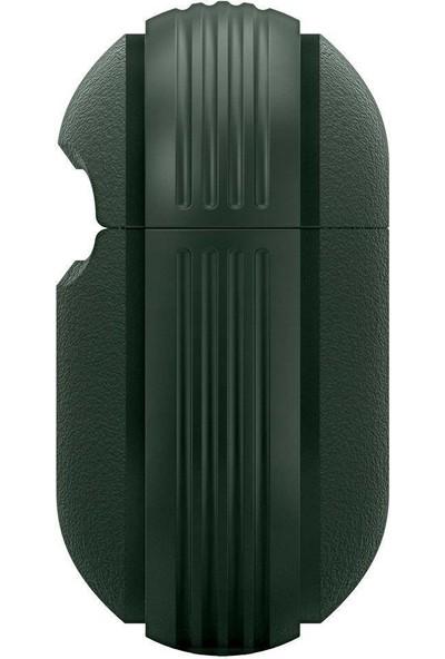 Caseology by Spigen Apple AirPods Pro Kılıf Vault Midnight Green - ASD01114