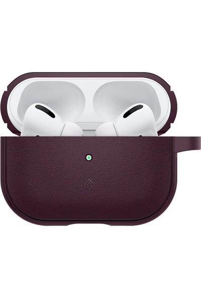 Caseology by Spigen Apple AirPods Pro Kılıf Vault Burgundy - ASD01116