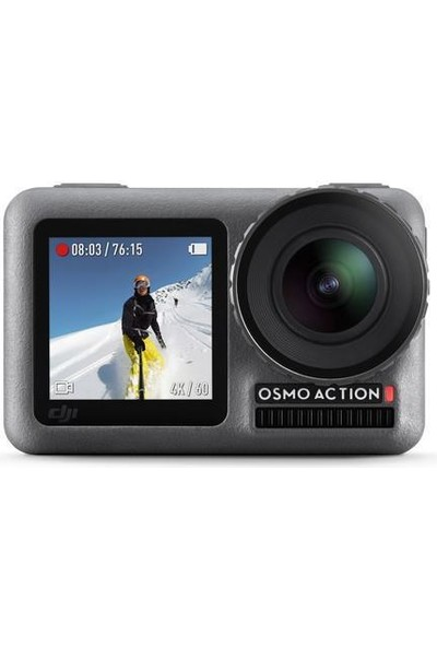 Djı Osmo Action Kamera + Osmo Action Part 13 Floating Handle Combo Paket