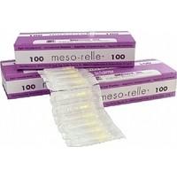 Meso-Relle Mezoterapi Iğnesi 30 gr 4 mm 100'LÜ