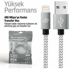 Qwerts Apple Iphone USB Lightning USB Hızlı Data Sarj Kablosu 1 mt