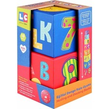 Let's Be Child Lc Oyuncak 30628 Eğitici Denge Kule Oyunu 8 Parça