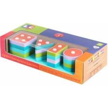 Let's Be Child Lc Oyuncak 30890 Eğitici Geometrik Şekiller Bul-Tak 17 Parça
