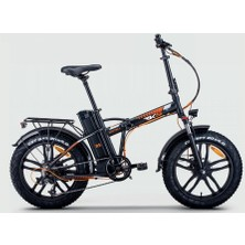 Rks Rs Iıı Pro X Elektrikli Katlanır Bisiklet 7 Vites Renk:Siyah 2021 Yeni Model
