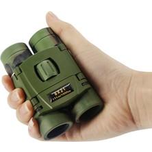 Erbilden Nikula 8X21 Kauçuk Kaplama Askeri Renk Cep Boy Mini Dürbün