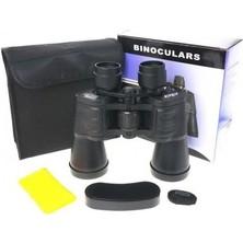Erbilden Nikula 100X100 Ergonomik Ayarlanabilir Kauçuk Kaplamalı Mavı Cam Mercekli Dürbün 56M/1000M