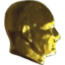 Ata Tanıtım 24 Ayar Gerçek Altın Kaplama Ata Rozet 04AR