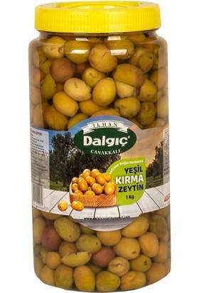 İlhan Dalgıç Yeşil Kırma Zeytin 1 kg