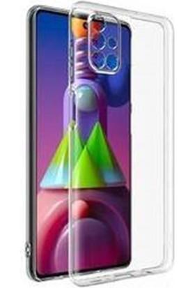 Mopal Samsung M51 Şeffaf Silikon Kılıf