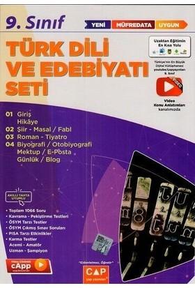 Çap Yayınları 9. Sınıf Türk Dili ve Edebiyatı Anadolu Seti