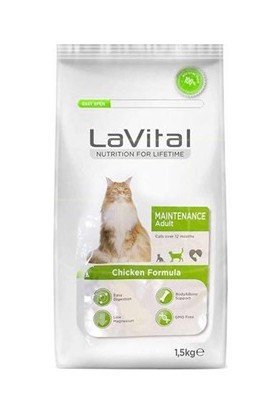 La Vital Maintenance Tavuk Etli Kedi Maması 1,5 kg