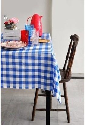 The Company Kareli Piknik Masa ve Yer Örtüsü Retro Sarı