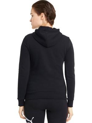 Puma Ess Logo Hoodie Tr Kadın Günlük Sweatshirts 58679101 Siyah