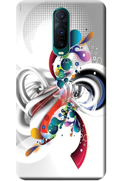 Teknolojik Reyon Oppo RX17 Pro Kılıf (CPH1877) Baskılı Silikon Rendkli Tasarım 570